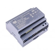Power supply switched mode 24V 6.25A 150W mounted on a DIN rail