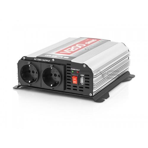 Inverteris 12V/230V 600W SINUS