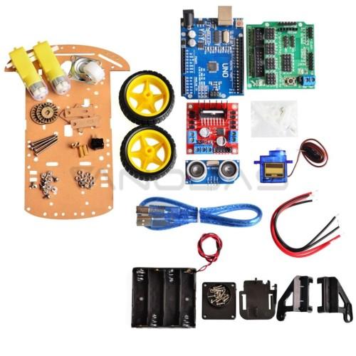 2WD Mobile platform Kit with electronics