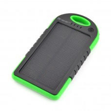 Portable Power Bank with Solar Charger 5000mAh