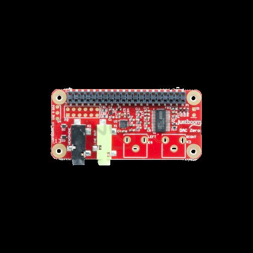 JustBoom DAC Zero - Raspberry Pi Zero Garso Plokštė