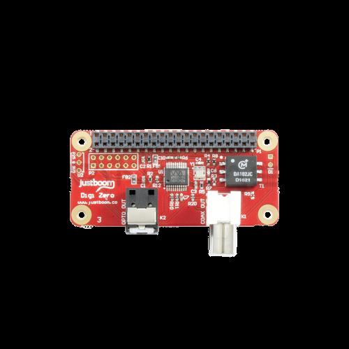 JustBoom Digi Zero - Raspberry Pi Zero Garso Plokštė