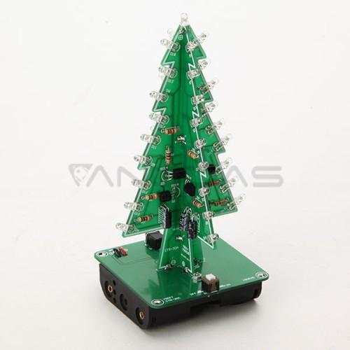Kalėdinė eglutė - Rinkinys savarankiškam litavimui