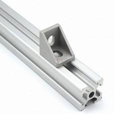 Kampinis laikiklis skirtas 2020 aliuminio profiliams - 20x20x17mm