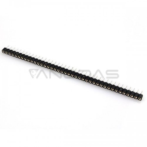 Single Row 40Pin  2.54mm Round Female Header Pin - 2.9 height
