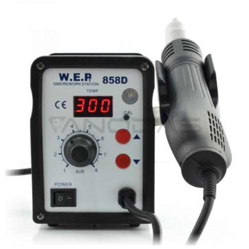 Karšto oro litavimo stotelė WEP 858D 700W