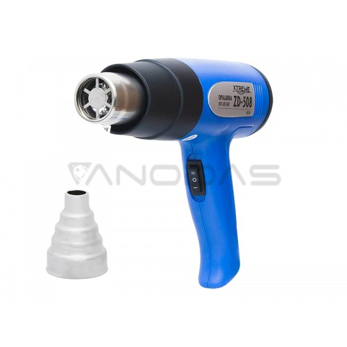 Karšto oro pūtiklis ZD508 750W - 1500W 350-500°C 220V