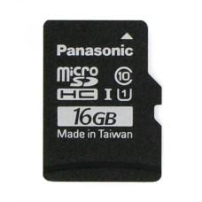 16GB 40Mb/s microSD kortelė Panasonic su Raspbian NOOBs programine įranga