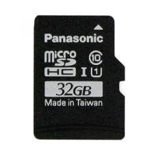 32GB 40Mb/s microSD kortelė Panasonic su Raspbian NOOBs programine įranga