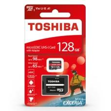128GB 98Mb/s microSD atminties kortelė Toshiba Exceria M303