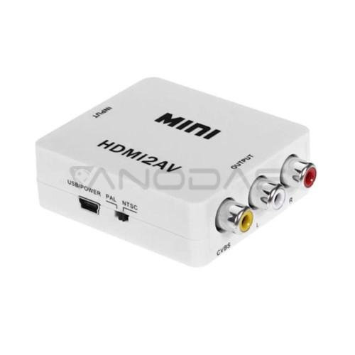 Keitiklis HDMI į AV RCA