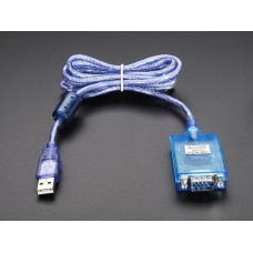 Keitiklis USB - RS232 COM +/- 10V su DB9 jungtimi - FT232RL SP-880