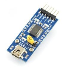 Keitiklis USB-UART FTDI FT232RL - miniUSB lizdas