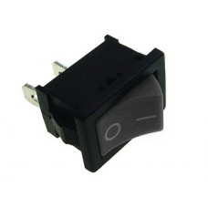 Switch ON-OFF 6A 250VAC black