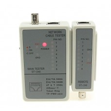 Lan RJ45 and Coaxial Cable tester