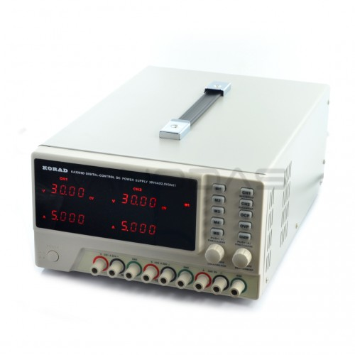 Laboratory power supply Korad KA3305D 2x 30V/5A + 5V/3A
