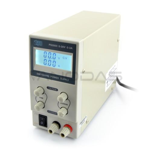 Laboratorinis maitinimo šaltinis PS3003 30V 3A