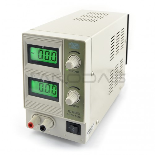 Laboratory power supply QJ1502C 15V 2A