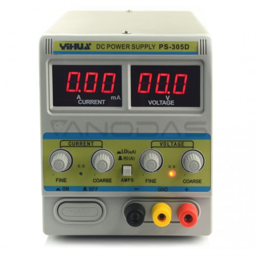 Laboratorinis maitinimo šaltinis Yihua 305D 30V 5A