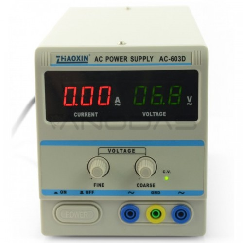 Laboratorinis maitinimo šaltinis Zhaoxin AC-603D 60V 3A