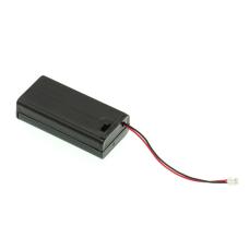 Laikiklis elementams 2xAA su jungikliu ir jungtimi Micro:Bit