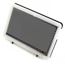 """Laikiklis Waveshare LCD Ekranui HDMI 7"""" ir Raspberry Pi mikrokompiuteriui"""