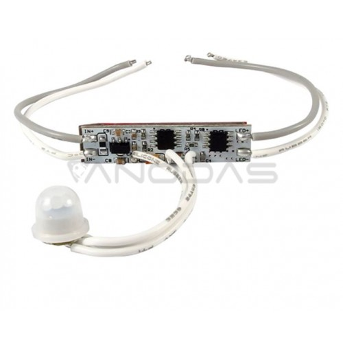 Switch with PIR sensor