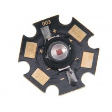 High power LED Star 1W red