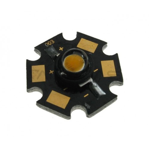 High power LED 5W Star cold white