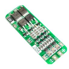 Li-ion Ličio baterijų įkrovimo modulis su apsauga 3S 12.6V 20A 18650