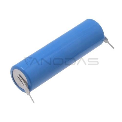 Ličio baterija CR14505 3V 1500mAh su litavimo kontaktais
