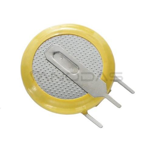 Lithium coin battery CR2032v PCB (vertical) 3V 210mAh 20x4.1mm Kinetic