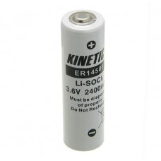Lithium battery ER14505 3.6V Kinetic