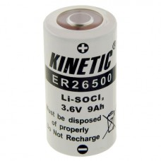 Lithium battery ER26500 3.6V Kinetic