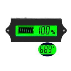 Ličio ir švino baterijų talpos indikatorius GY-6