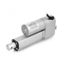 Linijinė pavara su potenciometru LA10P 500N 13mm/s 12V - cilindro eiga 5cm