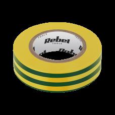 Adhesive insulation tape REBEL 18m - yellow green