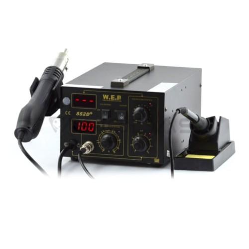 Litavimo stotelė 2in1 WEP 852D+ su karštu oru Hotair 60W