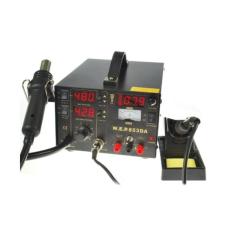 Litavimo stotelė 2in1 WEP 853DA su karštu oru Hotair 800W