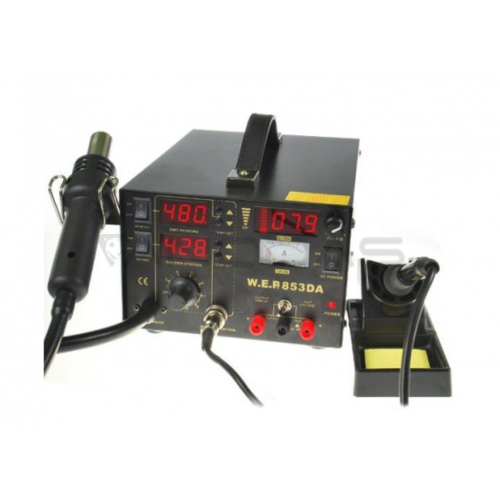 Soldering station 2in1 WEP 853DA with Hotair 800W