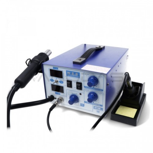 Soldering station 2in1 WEP 872D with Hotair 700W