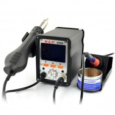 Soldering station 2in1 WEP 995D with Hotair 700W