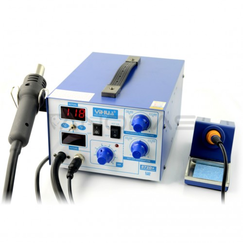 Soldering station 2in1 Yihua 872D+  with Hotair 700W