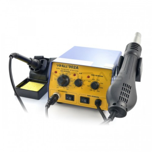 Soldering station 2in1 Yihua 902A with Hotair 700W