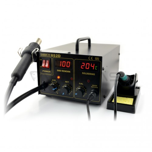 Soldering station 2in1 Zhaoxin 852D with Hotair 330W
