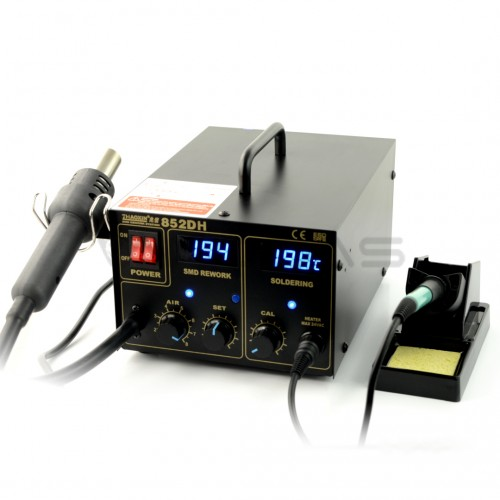 Soldering station 2in1 Zhaoxin 852DH with Hotair 75W