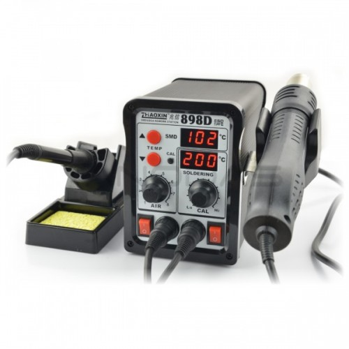 Soldering station 2in1 Zhaoxin 898D with Hotair 760W