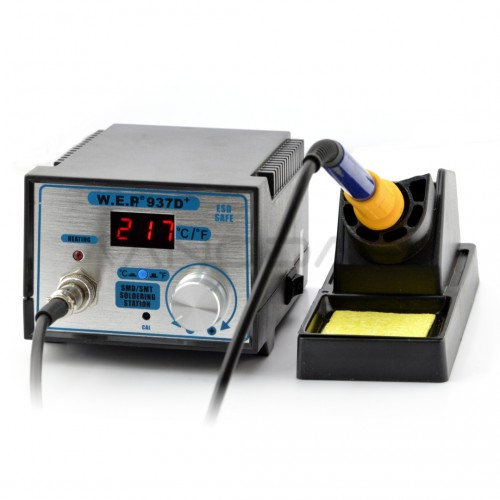 Soldering station WEP 937D+ NewDesign 75W