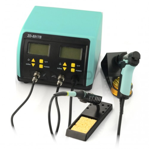 Soldering  station ZD-8917B  180W - 2 irons