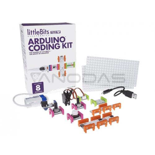 littleBits Electronics Arduino Coding rinkinys